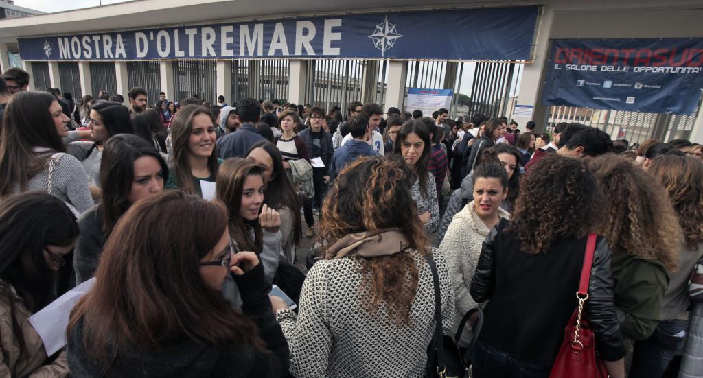 """Napoli, 11 Novembre 2014. Un momento di """"Orientasud"""". Ph. Roberta Basile"""